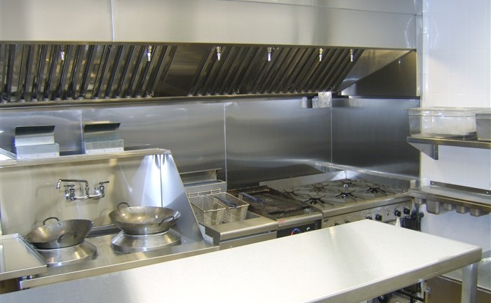 Restaurant - Stainless steel kitchen