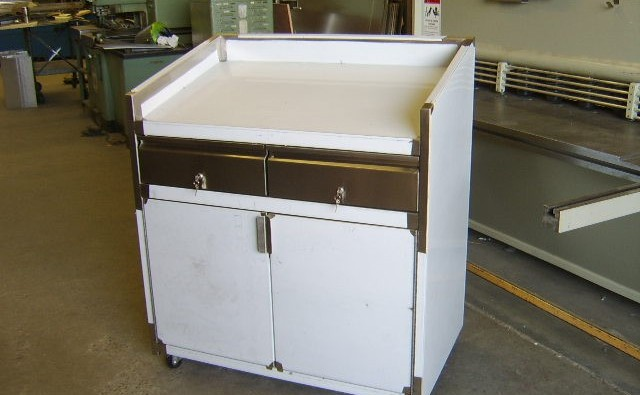 Custom Stainless Steel Cabinet built in Victoria BC