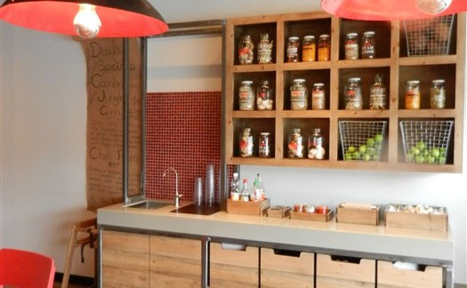custom restaurant steel cabinet