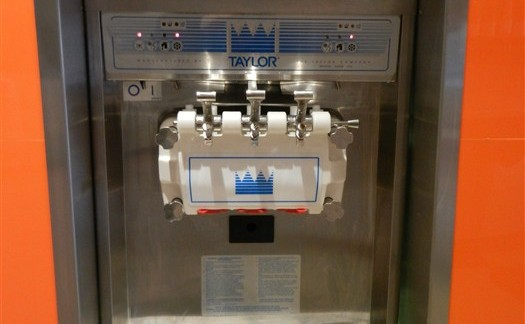 yogurt machine stainless steel trim