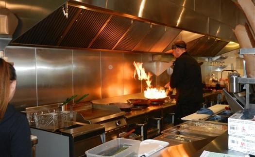 Custom stainless steel kitchen Victoria BC